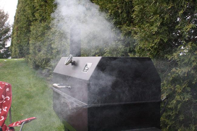 Smoking on Meadow Creek SQ36